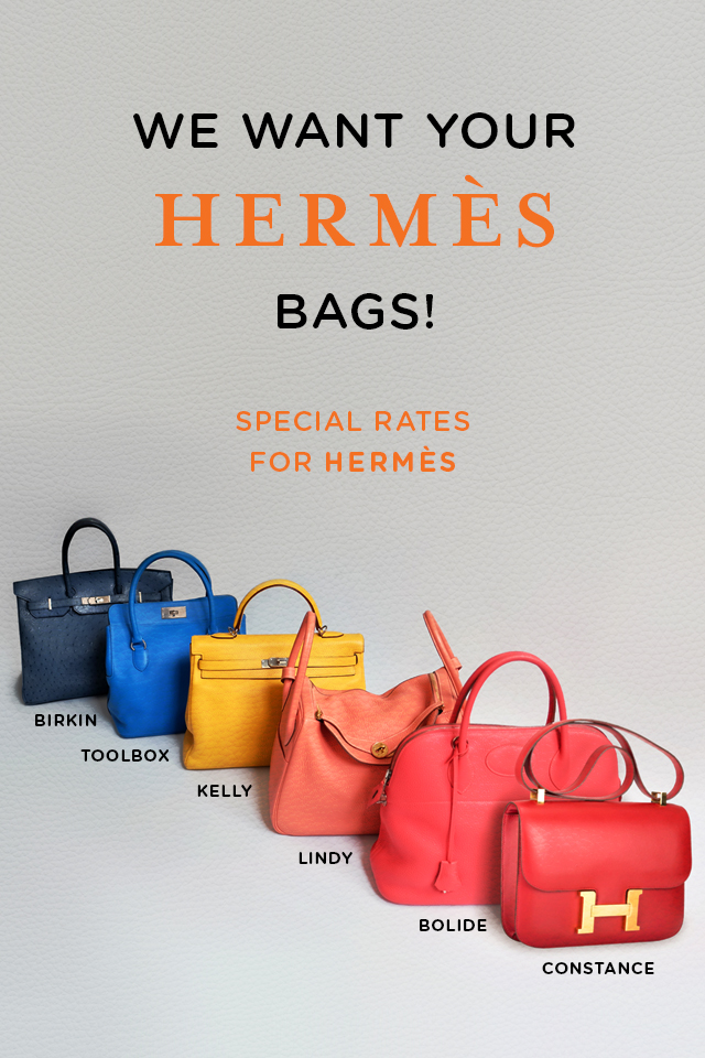 Sell Your HERMES Bags