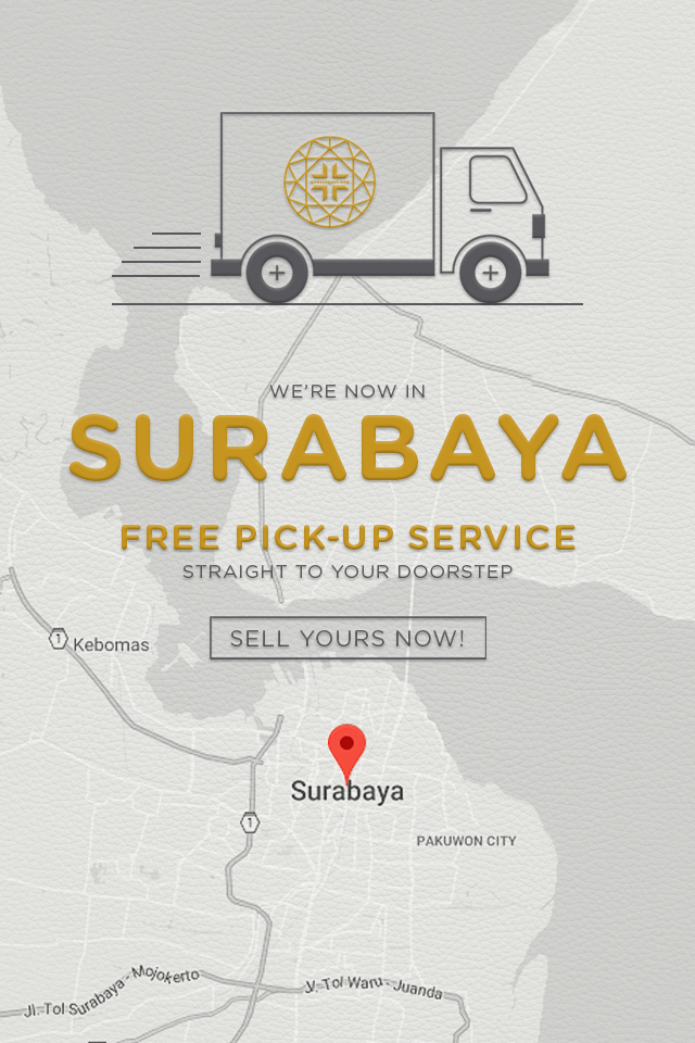Free Pickup Surabaya