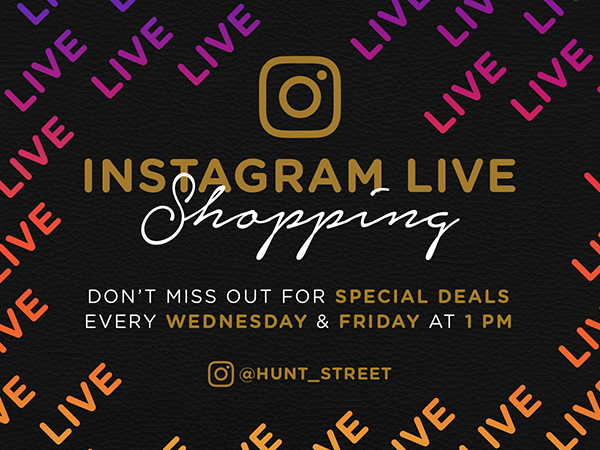Instagram Live Shopping