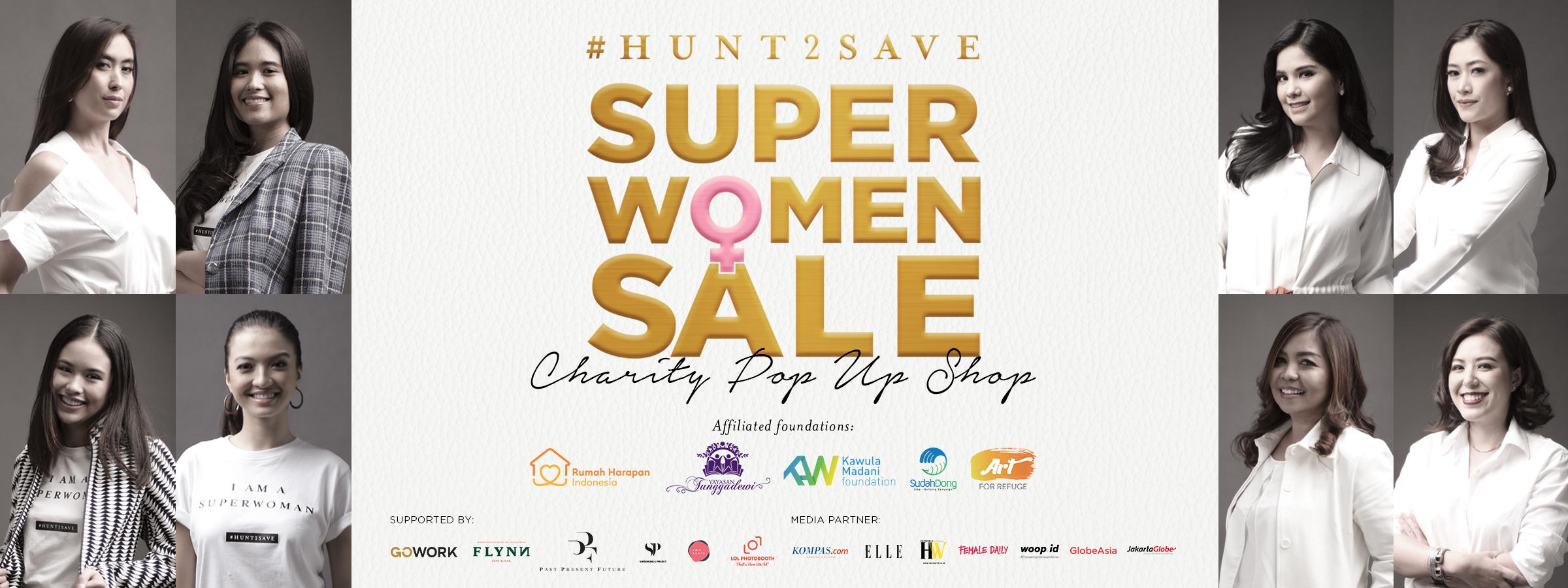 #HUNT2SAVE