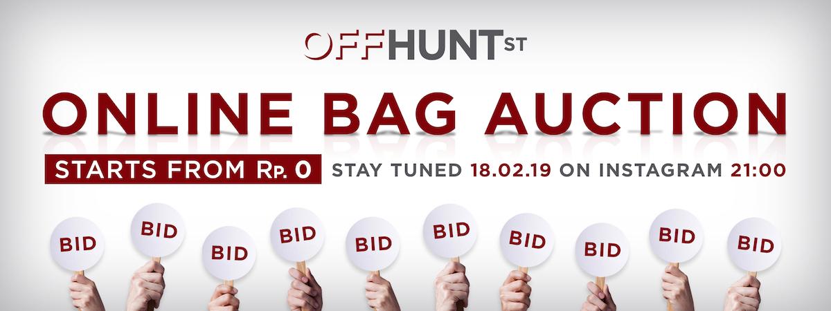 OFF HUNTSTREET Auction