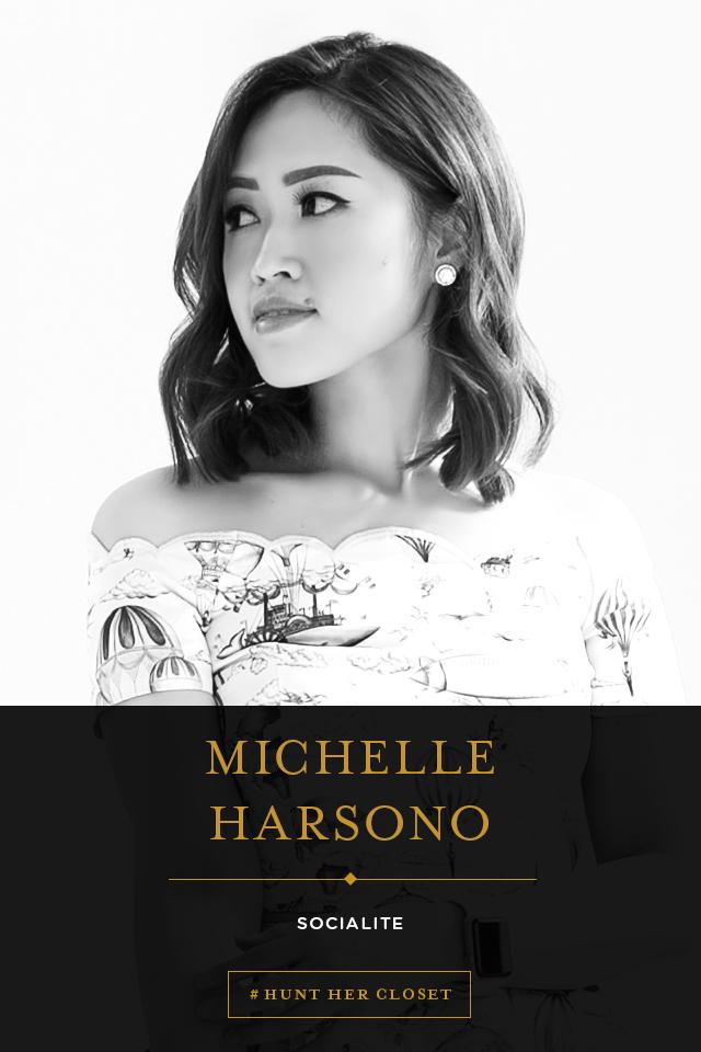 #HUNTHERCLOSET: Michelle Harsono